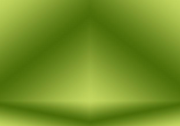 Abstract vervagen lege groene gradiënt studio goed gebruiken als achtergrond, websitesjabloon, frame, bedrijfsrapport.