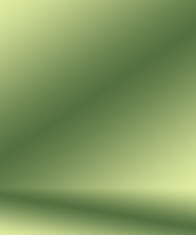Abstract vervagen lege groene gradiënt studio goed te gebruiken als achtergrond, websitesjabloon, frame, bedrijfsrapport