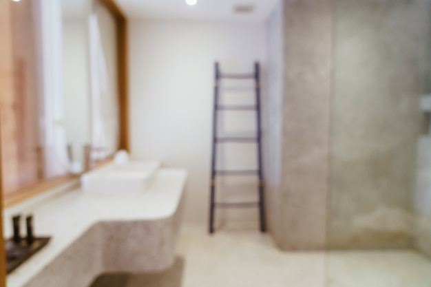 Abstract vervagen luxe badkamer
