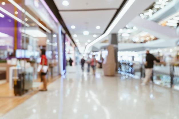 Abstract vervagen luxe winkelcentrum en winkel voor achtergrond