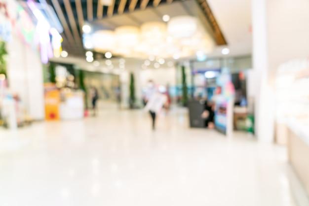 Abstract vervagen winkelcentrum
