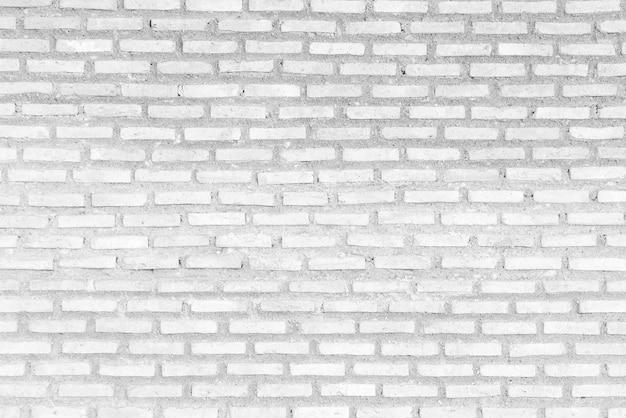 Abstract verweerde textuur witte bakstenen muur achtergrond