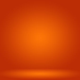 Abstract vlot oranje achtergrondlay-outontwerp