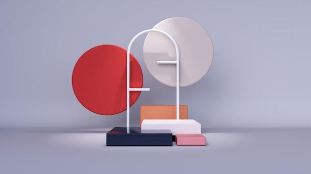 Abstracte achtergrond, 3d-rendering