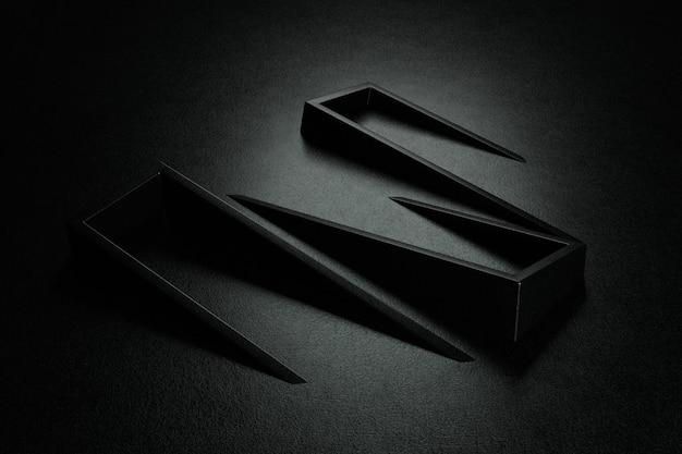 Abstracte achtergrond. duisternis achtergrondontwerp. 3d-weergave.