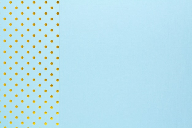 Abstracte achtergrond gemaakt met twee blauwe papier