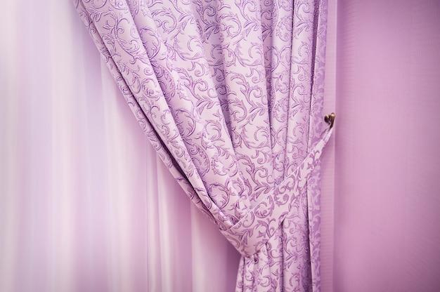 Abstracte achtergrond in de vorm van luxe doek of golvend