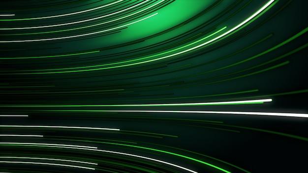 Abstracte achtergrond met animatie verplaatsen van lijnen voor glasvezelnetwerk.
