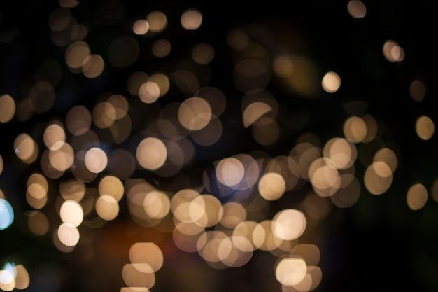 Abstracte achtergrond met bokeh intreepupil lichten Premium Foto