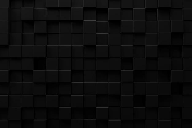 Abstracte achtergrond met donker concept, het 3d teruggeven.