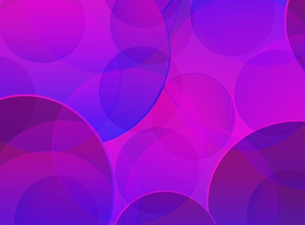 Abstracte achtergrond met geometrische verloopcirkel ontwerp abstract patroon met kleurcirkels