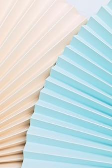 Abstracte achtergrond met geweven document ventilators. feestelijk feest