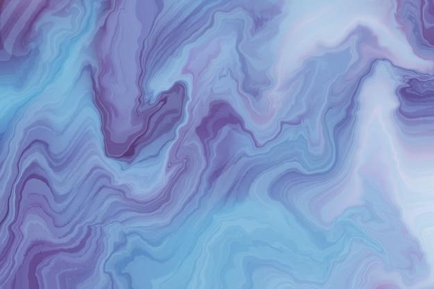 Abstracte achtergrond met golvende verftextuur