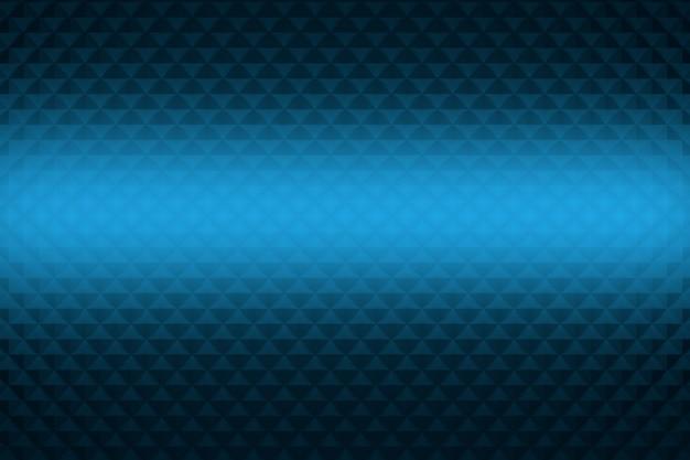 Abstracte achtergrond met herhalende driehoeken en gloeiende centrale deel.