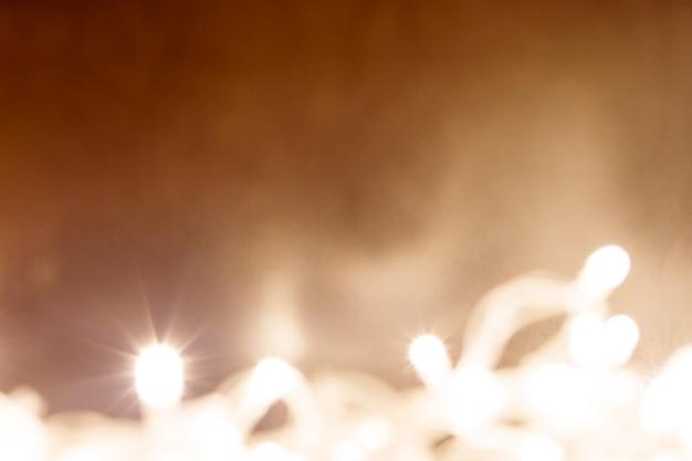 Abstracte achtergrond met kerstmislichten