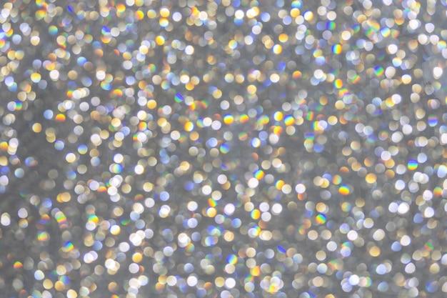 Abstracte achtergrond met kleurrijke cirkel bokeh lichten.