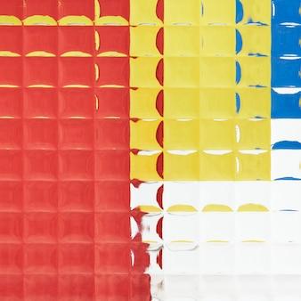 Abstracte achtergrond met patroonglastextuur