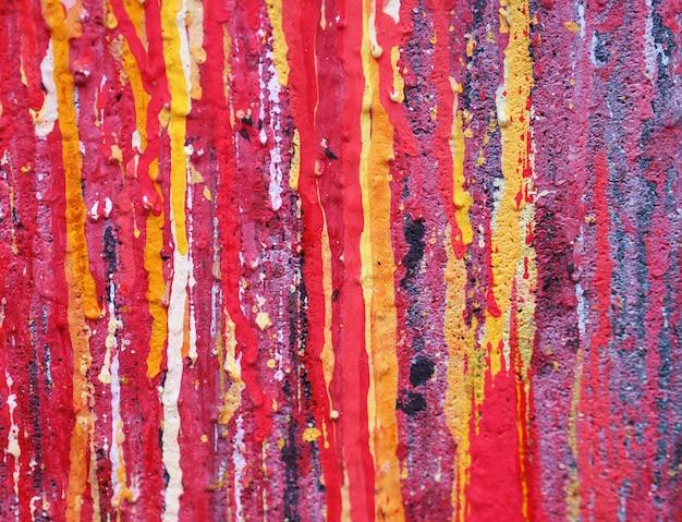 Abstracte achtergrond met textuurwaterverf op papier