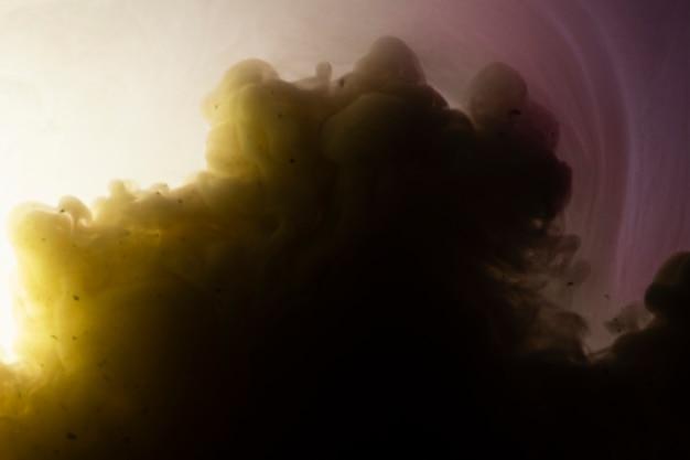 Abstracte achtergrond met wolk