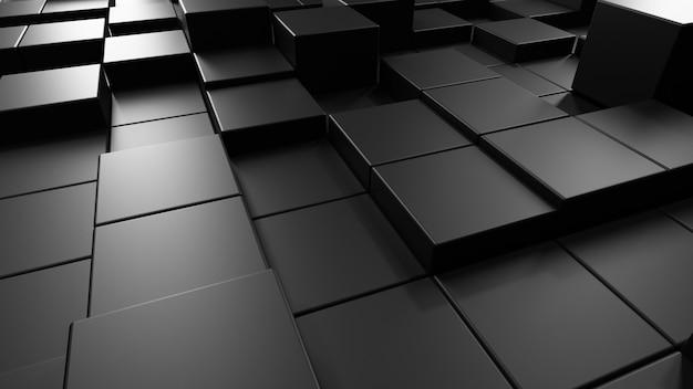 Abstracte achtergrond met zwart patroon
