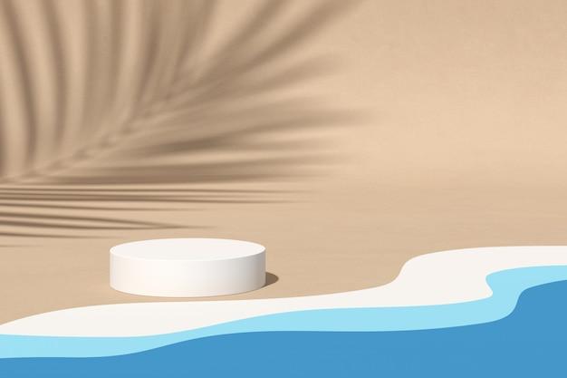 Abstracte achtergrond, scène. 3d-weergave