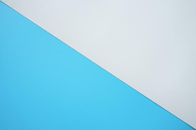 Abstracte achtergrond van blauwe en witte kunststof pvc-textuur
