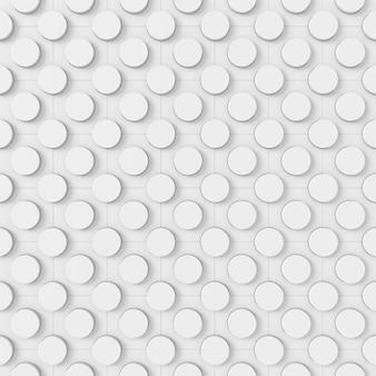 Abstracte achtergrond van cirkel, 3d-rendering.