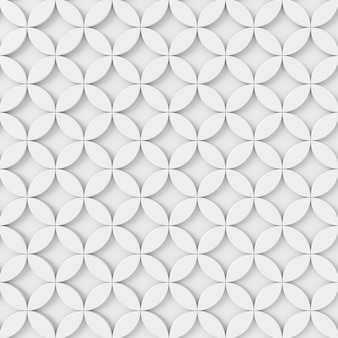 Abstracte achtergrond van cirkel. 3d-weergave