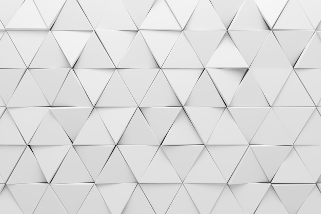 Abstracte achtergrond van driehoek. 3d-weergave.