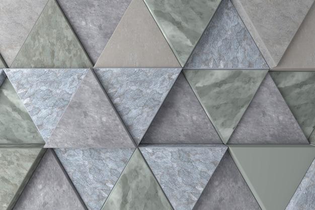 Abstracte achtergrond van driehoek Premium Foto