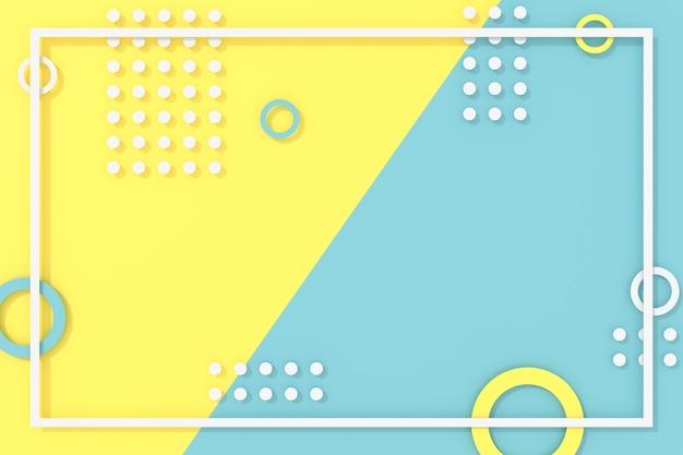 Abstracte achtergrond van geometrische vorm