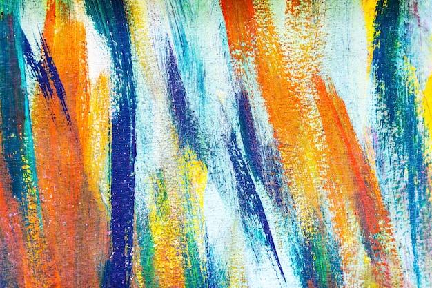 Abstracte achtergrond van kleurrijk geschilderd op betonnen muur. graffiti kunst behang.