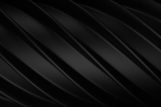 Abstracte achtergrond van kleurrijke curve. 3d-weergave.