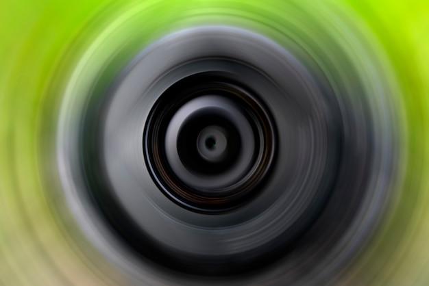 Abstracte achtergrond van kleurrijke spin circle radial motion blur.