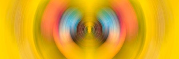 Abstracte achtergrond van kleurrijke spin cirkel radiale motion blur.