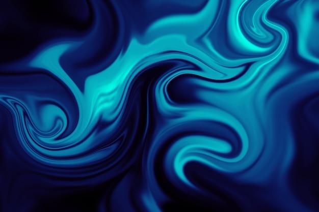 Abstracte achtergrond van kleurrijke vloeibare voering. abstracte textuur van vloeibaar acryl.