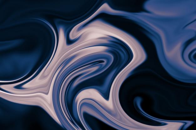 Abstracte achtergrond van kleurrijke vloeibare voering. abstracte textuur van vloeibare acryl.