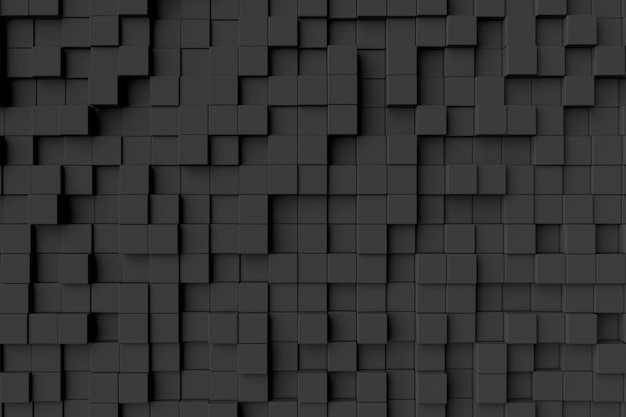 Abstracte achtergrond van kubussen