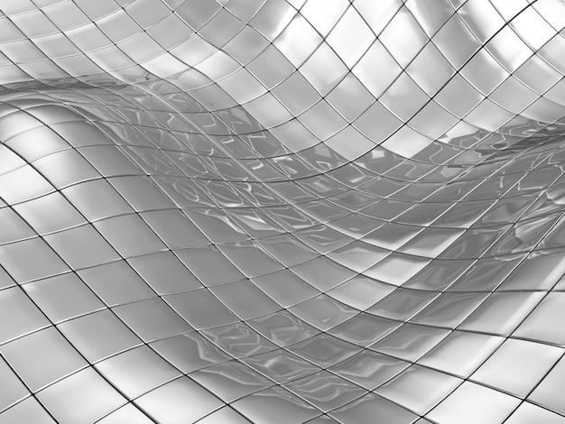 Abstracte achtergrond van metalen kubussen