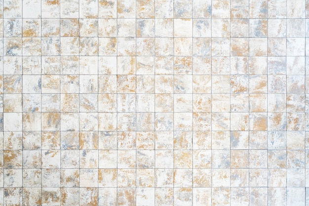 Abstracte achtergrond van oud baksteenpatroon op gang.
