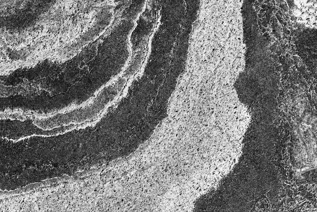 Abstracte achtergrond van oude marmeren textuur met grunge in zwart-wit.