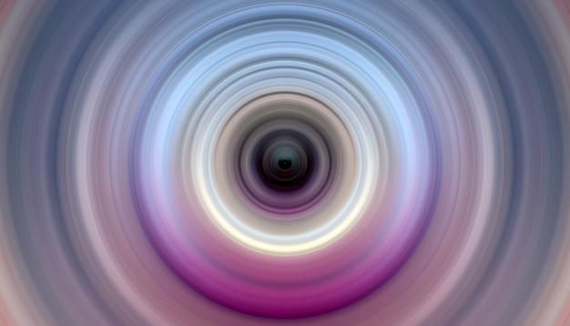 Abstracte achtergrond van radiaal de motieonduidelijk beeld van de rotatiecirkel
