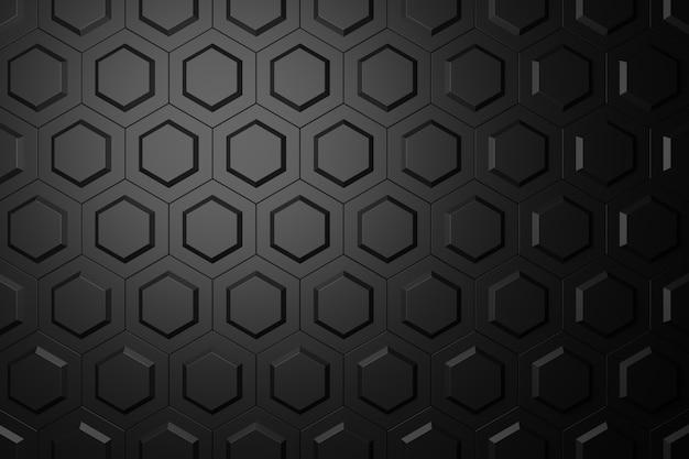 Abstracte achtergrond van zeshoekige vorm.