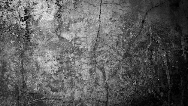 Abstracte achtergrond van zwarte en witte muur grunge background