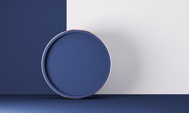 Abstracte achtergrond voor productpresentatie, podiumvertoning, minimaal ontwerp