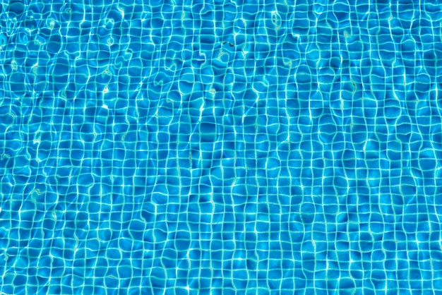 Abstracte achtergrond water in zwembad