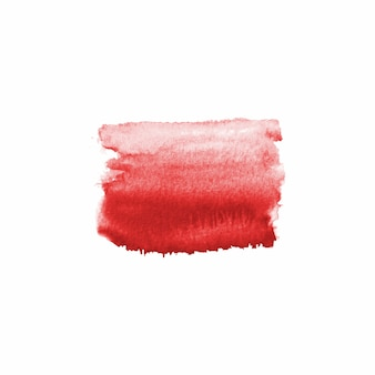Abstracte aquarel hand getekende vlek. aquarel ontwerpelement. aquarel bloed rode achtergrond.