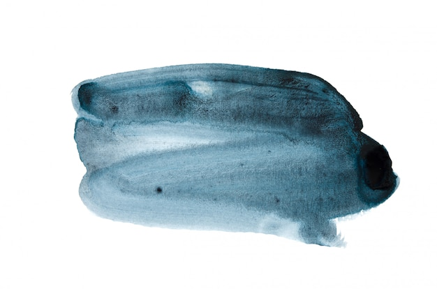 Abstracte aquarel hand verf textuur achtergrond, geïsoleerd.
