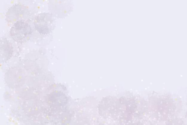 Abstracte aquarel met kleine glitter sjabloon achtergrond