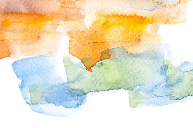 Abstracte aquarel penseelstreek achtergrond.